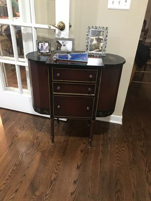Hand painted sewing cabinet for Sale in West Bloomfield Township, MI