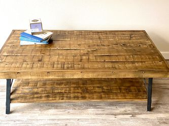 Large Wooden Coffee Table for Sale in Seattle,  WA