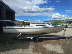 22 foot sailboat with motor for Sale in Heber City, UT