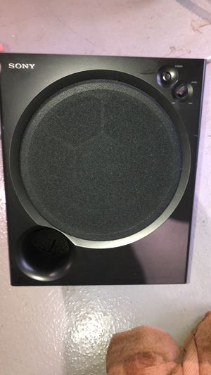 Sony active subwoofer 100 Watts works great for Sale in West Chicago, IL