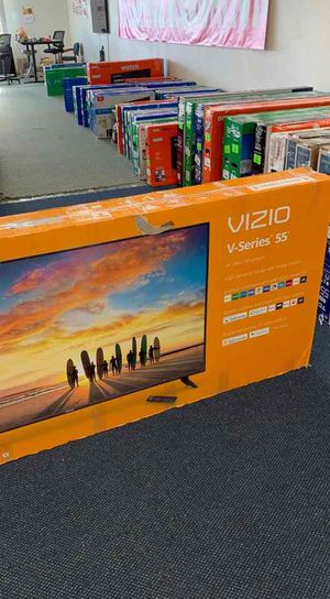 Brand new open box Visio television TV! All new with Warranty! 55 inches! PN9V0 for Sale in Dallas, TX
