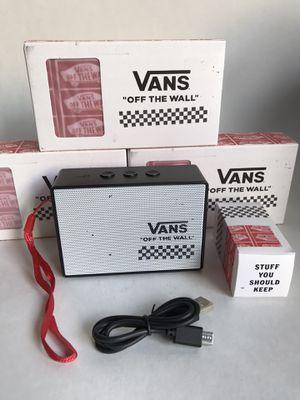 VANS Wireless Speaker VANS Brand New in Box for Sale in La Puente, CA