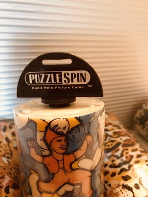 Vintage Puzzle Spin Hand-held picture game (4) Available (2) are the same, it may be similar to Rubik's cube ( 1 for $12,) 2 for $20 or (4 for $32 for Sale in Hokendauqua, PA