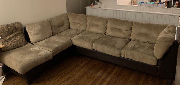 L shape sectional sofa set
