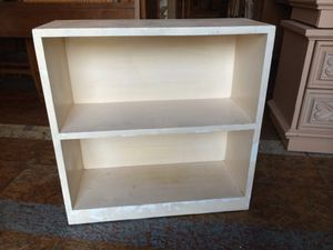White bookcase $40 for Sale in San Diego, CA