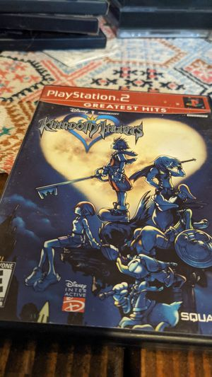 Kingdom hearts ps2 for Sale in Spanaway, WA