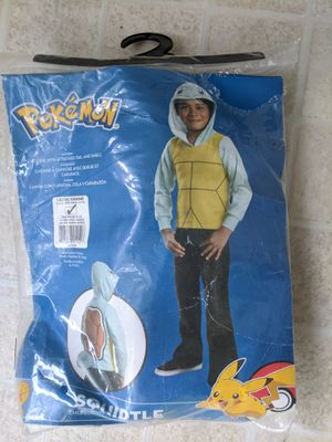 Pokémon Squirtle costume 12-14 for Sale in Winston, GA