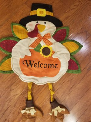 Fall Harvest Turkey Door/Decor Prop for Sale in Ashburn, VA