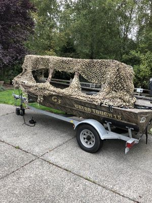Duck hunting boat G3 for Sale in Kenmore, WA