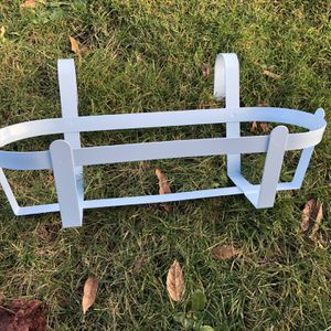 Baby blue metal Plant holder for Sale in Seattle, WA