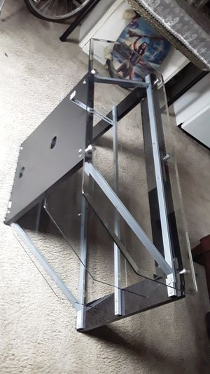 Glass TV stand for Sale in San Jose, CA