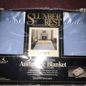 "Electric blanket 72""x84"" full size blanket for Sale in Queens, NY"