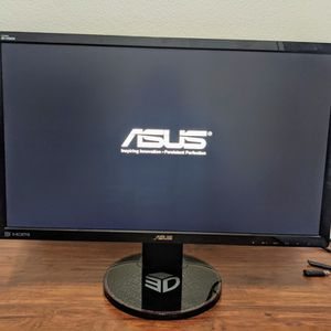 """24"""" Asus VG248QE 144HZ 1080P 1MS Gaming Monitor For Computer Desktop PC for Sale in Orlando, FL"""