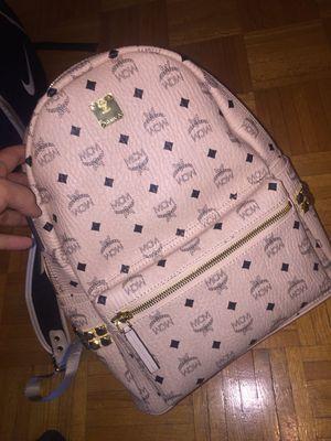 Mcm Pink backpack 40cm for Sale in Orlando, FL