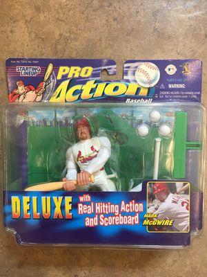 Mark McGwire Pro Action Figure Doll for Sale in Brandon, FL