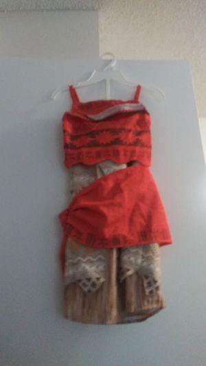 Moana costume size 7 8 for Sale in La Puente, CA