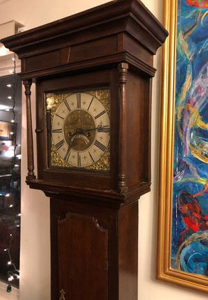Antique Early 18th Century English Grandfather Clock for Sale in Los Angeles, CA