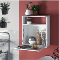 Modern White Kitchen Stand, Cabinet Shelf for Sale in Los Angeles,  CA