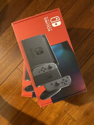 Brand New Nintendo Switch V2 Console with Gray Joycons - Newest Model for Sale in Rockville, MD