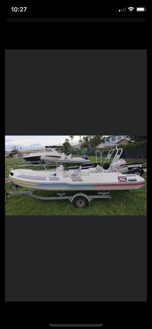 2011 caribe dl20 rib inflatable 20' boat for Sale in Miami, FL