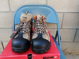 Brand new wolverine DURÁNT work boots. Size 11. Steel toe. Waterproof for Sale in Riverside, CA