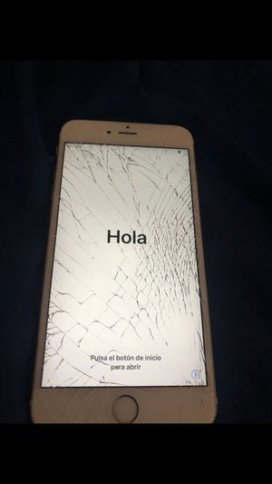 iPhone 6s Plus (CRACKED)AT&T AND CRICKET for Sale in Scottsdale, AZ