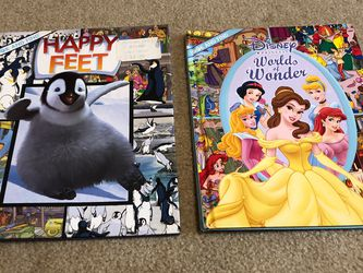 Look And Find Spy Books : Disney Princess Worlds Of Wonder / Happy Feet for Sale in Smyrna,  TN