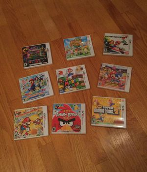 Assorted Nintendo 3DS games (SEE DESCRIPTION) for Sale in Danvers, MA