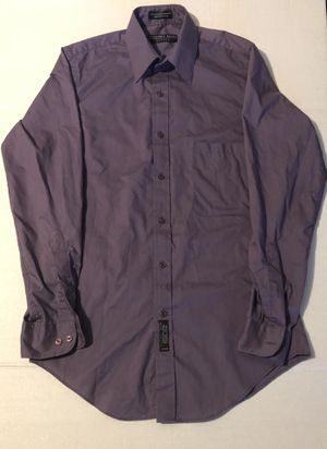 Men's GEOFFREY BEENE Purple Fitted Dress Shirt for Sale in Adelphi, MD