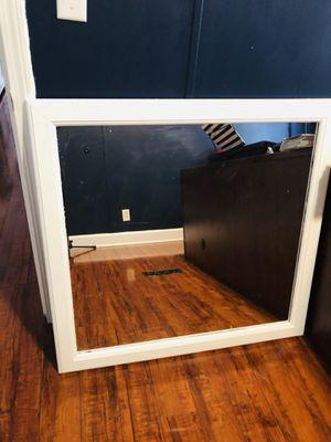 White mirror for Sale in La Vergne, TN