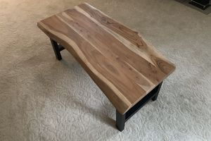 Gorgeous Durable Live Edge Coffee Table for Sale in Bellevue, WA