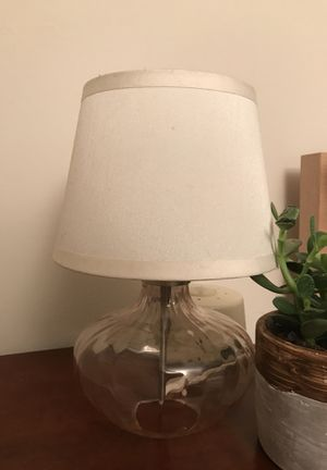 Small lamp (2 matching lamps- price is for both) for Sale in New York, NY