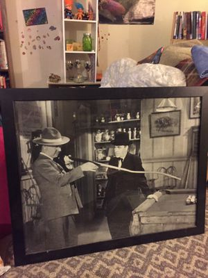 W C Fields classic picture playing pool for Sale in Manassas, VA