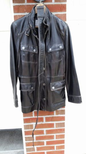 Nine West NEW women's genuine leather jacket M - for Sale in Chicago, IL