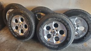 Wrangler wheels and tires for Sale in Auburn, WA
