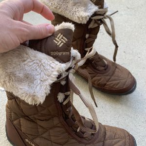 Columbia Snow Boots Brown Lightly Used (once In Snow) Size 8 for Sale in El Segundo, CA