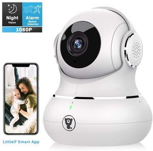 Indoor WiFi Security Camera Baby Monitor with Motion Tracking, 2-Way Audio, Night Vision and Cloud Service for Sale in Arlington, TX
