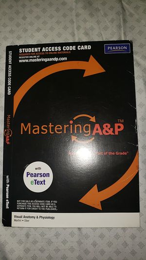 Mastering A&P Access Code for Sale in Arlington, TX