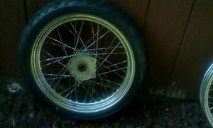 19 inch tire and rim for Sale in Traverse City, MI
