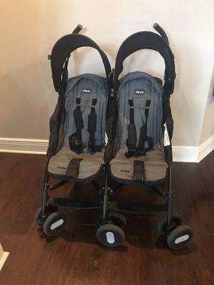 Chicco echo double umbrella stroller for Sale in Seminole, FL
