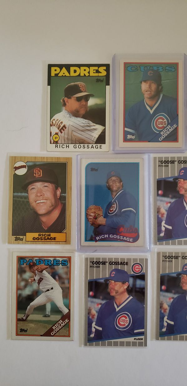 8 Rich Gossage Baseball Card Lot For Sale In Clearwater Fl Offerup