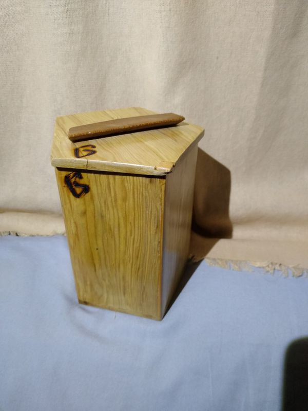 Wood boxes, Hemlock, Redwood,& Canadian fir,handmade branded /signed by the maker, paperwork available.