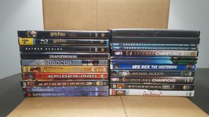 21 DVDs some discs may be missing check items list for Sale in Miramar, FL