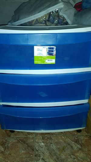 Plastic drawer for Sale in Kissimmee, FL