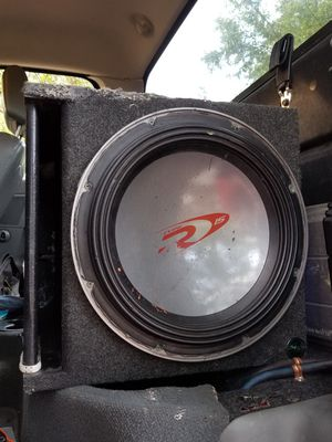 ALPINE TYPE R 15in. SUBWOOFER for Sale in DeFuniak Springs, FL