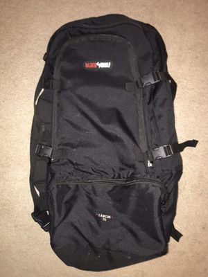 Black Wolf Cancun 70L Internal Frame Hiking Backpack for Sale in Knoxville, TN