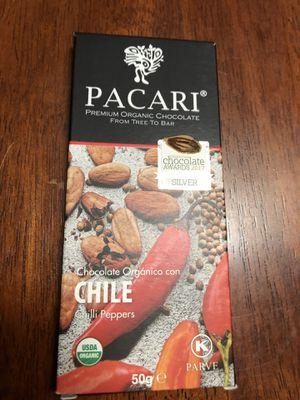 Rare Chocolate Pacari Chili flavor Chile for Sale in Westchester, CA