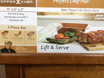 Copper perfect loaf pan new for Sale in Monrovia,  CA