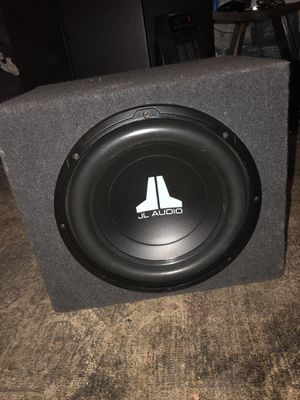 """JL Audio 12"""" Sub With Amp for Sale in Gardena, CA"""