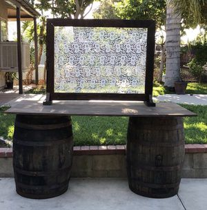 barrel backdrop for Sale in Chino Hills, CA